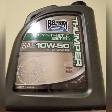 Olej Bel-Ray 3,2 L Full Syntetyk 10w50