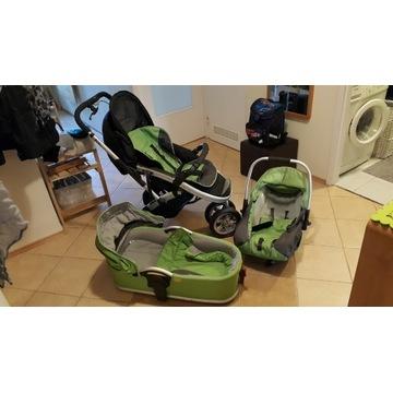 Wózek Casualplay S4 3w1 spacerówka gondola fotelik