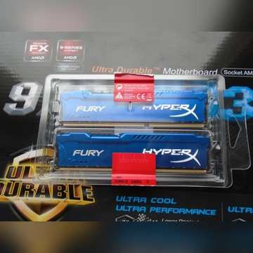 Hyper Fury 2x8GB 18866MHz CL10