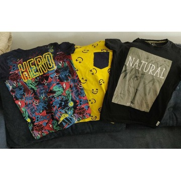 Reserved t-shirty 134 Marvel