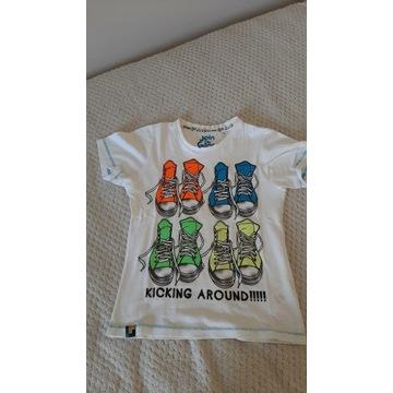 C&A  T-shirty koszulka 2 sztuki rozmiar 122