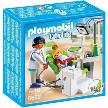 Playmobil City Life 6662 Dentysta KLEKS Warszawa