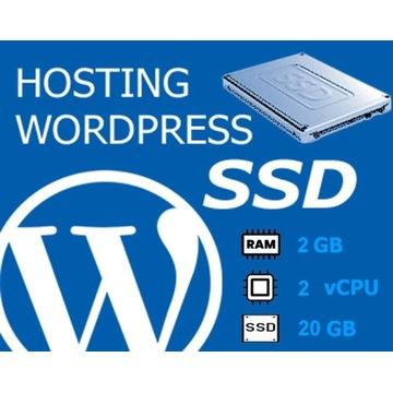 Hosting WordPress LiteSpeed 2GB RAM 2vCPU 20GB SSD