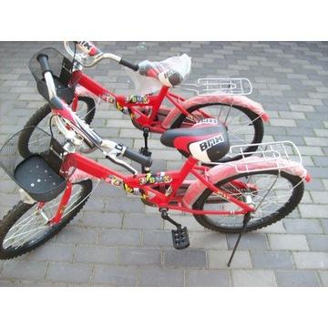 Rower Rowerek 20cali BMX  czerwony dla dziecka