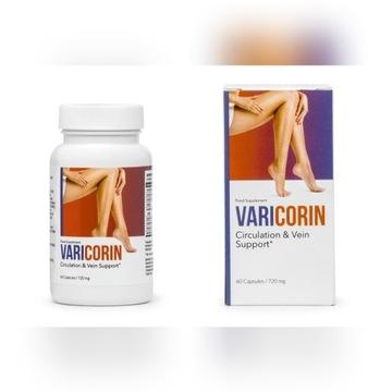 VARICORIN- Naturalne usuwanie żylaków