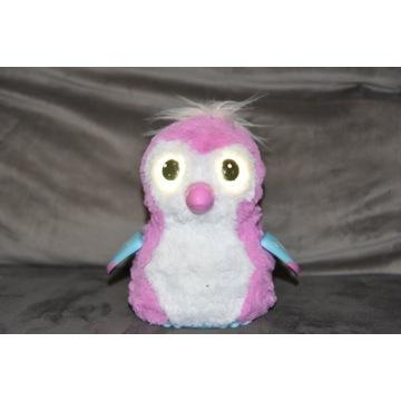 Hatchimals różowy pingwin zabawka interaktywna