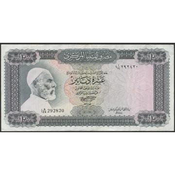 Libia 10 dinarów 1972 - I A/24