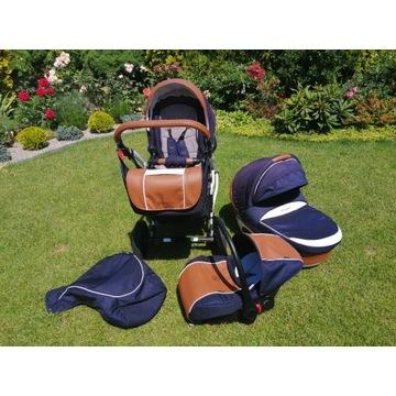 Wózek dziecięcy 3w1 coletto