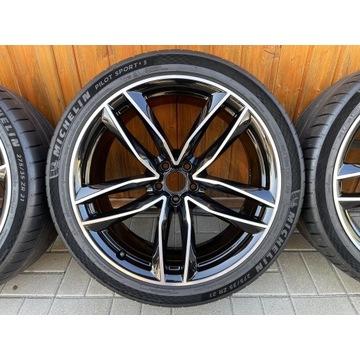 Czarne Oryginalne Felgi Audi 21'' RS6 RS7 S8 A7 A8