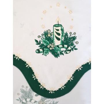 Świąteczny obrus 84x86