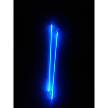 Katody, niebieskie podświetlenie komputera