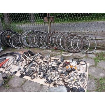 Części rowerowe stare PRL 900 sztuk