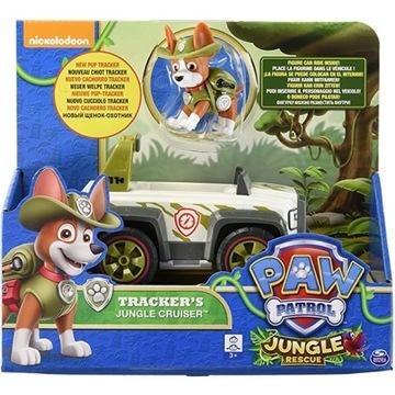 Psi patrol Tracker NOWOŚĆ Pojazd + Figurka