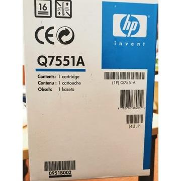 Nowe tonery do drukarki HP 51A Q7551A