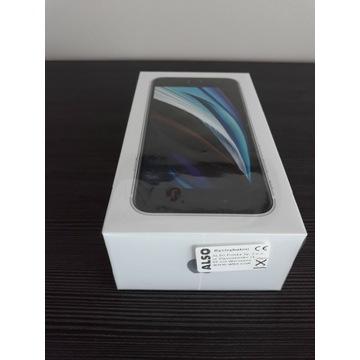 Iphone se biały 64 gb Zafoliowany, z ładowarką