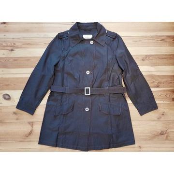 C&A brązowy cienki płaszcz XL 46/48