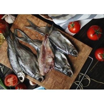 Suszone ukraińskie ryby - PŁOTKI - 24 zł/05,kg