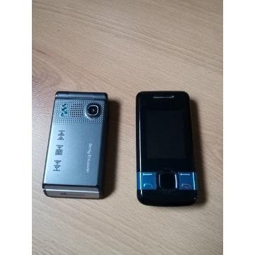 Sony Ericsson W380i, Nokia 7100s-2 + ładowarki itp