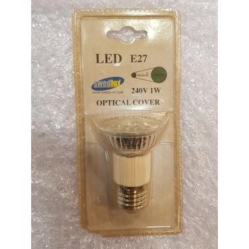 Żarówka LED Kolorowa Swedlux E27 1W Zielona