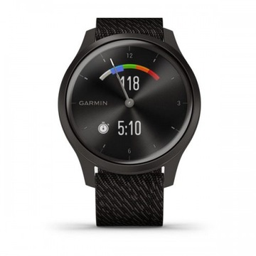 GARMIN Vívomove Style 42 mm Grafit