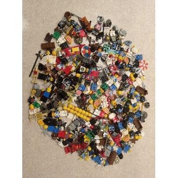 Klocki LEGO retro figurki castle western bronie