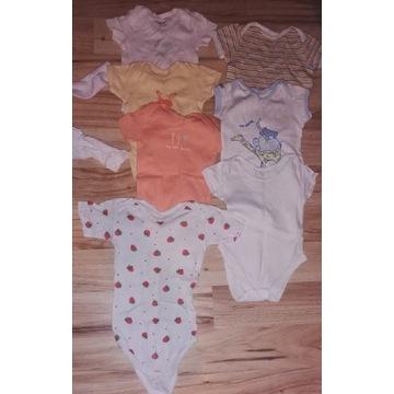 Ubranka dla dziewczynki od rozmiaru 56 do 74