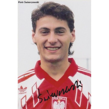 Piotr Świerczewski (IO 1992) AUTOGRAF