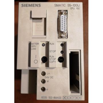 Simatic CPU102 6ES5102-8MA02 + kabel konw 6ES5 734