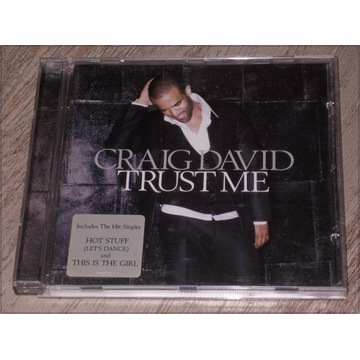 Muzyka - CD - album : CRAIG DAVID – TRUST ME