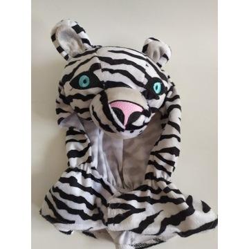 Czapka przebranie zebra centki 116, 5-8 lat