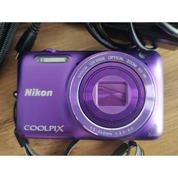 Aparat Cyfrowy Nikon Coolpix S6600