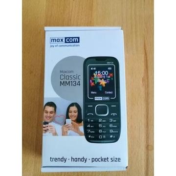Telefon dla seniora MAXCOM MM134 latarka/radio