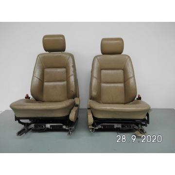 Fotele Mercedes c140 sec coupe w140 skóra berz