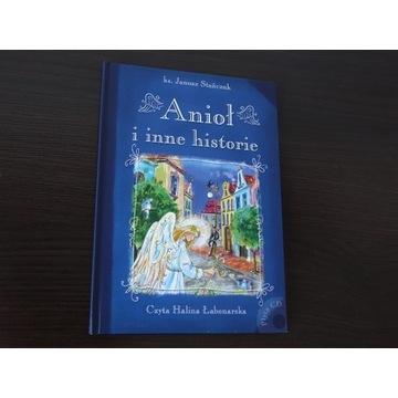 Anioł i inne historie książka dla dzieci płyta CD
