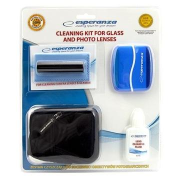 Zestaw do czyszczenia foto lcd Esperanza ES115 box