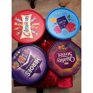 Oryginalne slodycze cadbury i Nestlé