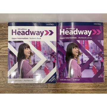 """Książki do j. Angielskiego OXFORD """"Headway"""""""
