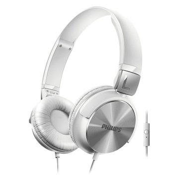 Słuchawki Philips SHL3065WT NAUSZNE MIKROFON