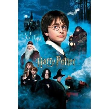 Plakat Harry Potter - Kamień Filozoficzny 61,5x91