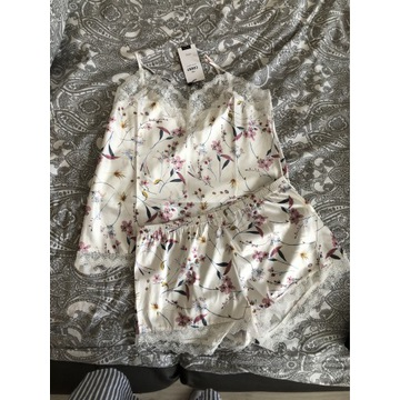 Piżama satynowa Carry