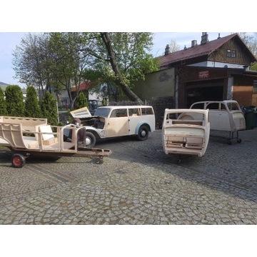 Renowacja Aut Zabytkowych , konstrukcji drewna