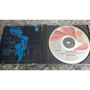 Dire Straits Love Over Gold CD PDO France Queen