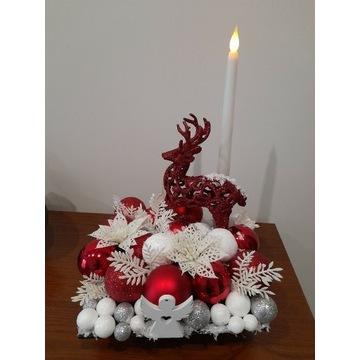 Podświetlany stroik Boże Narodzenie