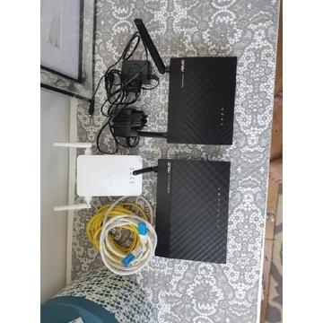 Rutery Asus oraz wzmacniacz sygnału wifi