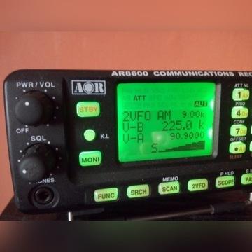 Skaner AOR 8600 Mark 2