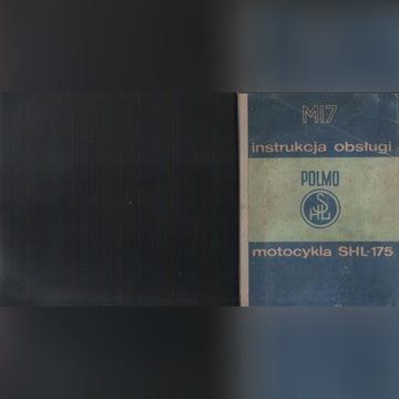 INSTRUKCJA OBSŁUGI MOTOCYKLA SHL GAZELA M-17