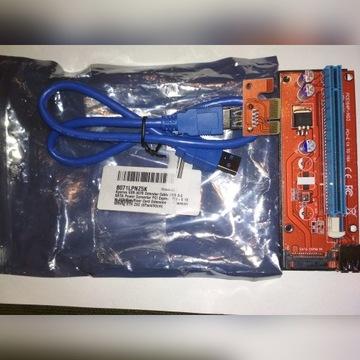 konwerter USB 3.0 SATA PCI Express PCI-E 1X na 16X