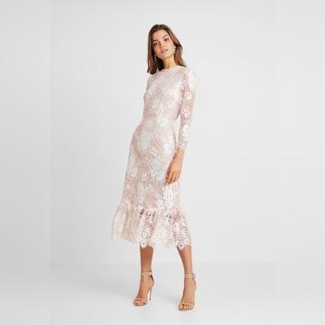 Sukienka MIDI super rozmiar 40