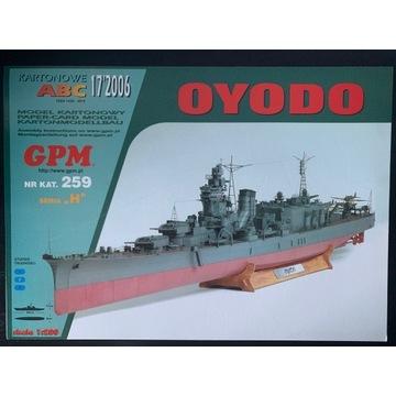 GPM IJN Oyodo  - skala 1:200