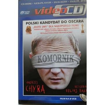 """FILM """"KOMORNIK"""" VCD, 2 PŁYTY, PUDEŁKO. JAK NOWY."""